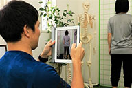 姿勢の評価、動作評価、柔軟性の評価