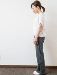 姿勢と首の位置
