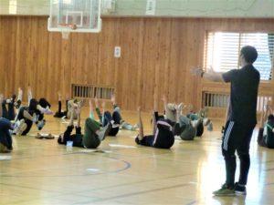 小学校体幹トレーニング