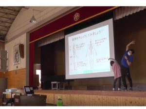 子供の姿勢講演会